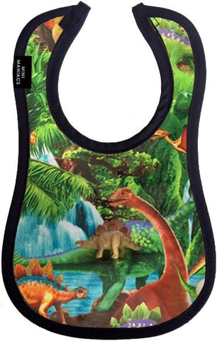 Dino Baby Bib by Mini Maniacs