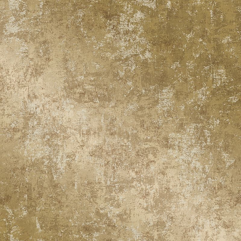 Sample Distressed Gold Leaf Self-Adhesive Wallpaper (Single Roll) by Tempaper