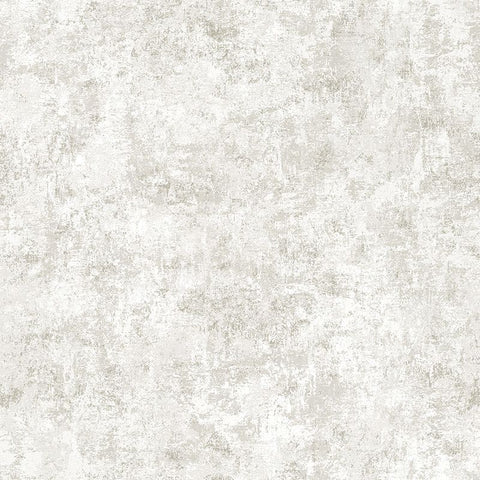 Distressed Gold Leaf Self-Adhesive Wallpaper (Single Roll) in Pearl by Tempaper