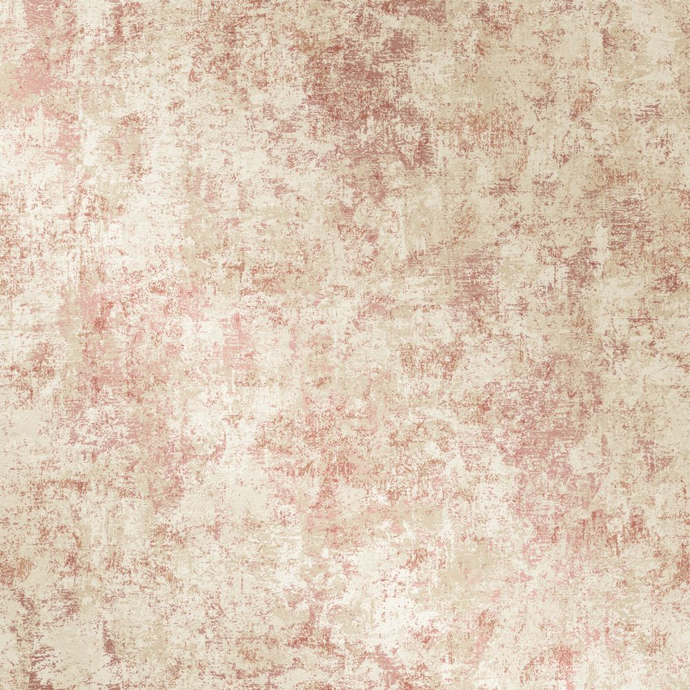 Sample Distressed Gold Leaf Self-Adhesive Wallpaper in Rose Pink design by Tempaper