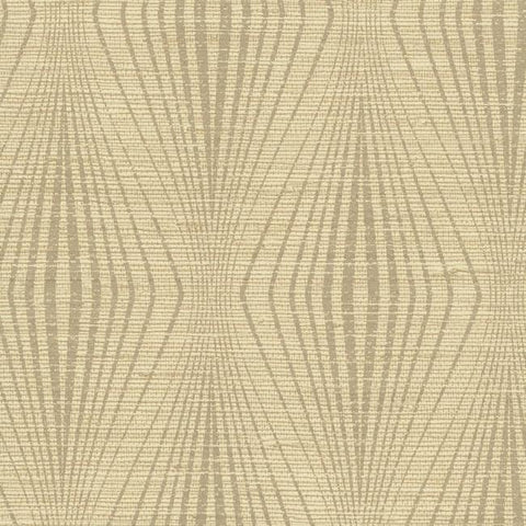 Divine Wallpaper in Beige and Brown from the Terrain Collection by Candice Olson for York Wallcoverings