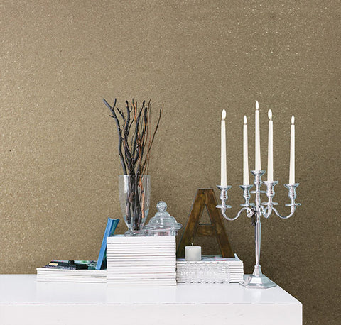 Dmitry Taupe Mica Wallpaper from the Jade Collection by Brewster Home Fashions