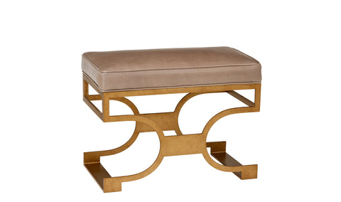 Domingo Bench in Various Fabrics & Finishes