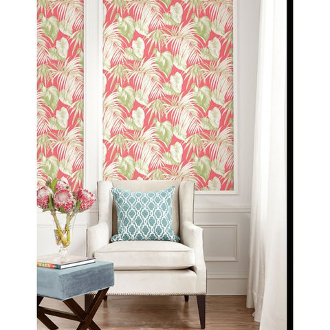 Dominica Wallpaper from the Tortuga Collection by Seabrook Wallcoverings