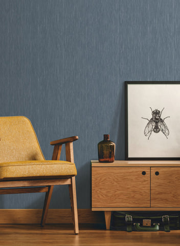 Dot Dash Wallpaper in Navy from the Design Digest Collection by York Wallcoverings