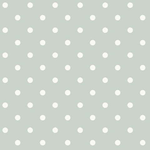 Dots On Dots Wallpaper in Grey and White from the Magnolia Home Collection by Joanna Gaines