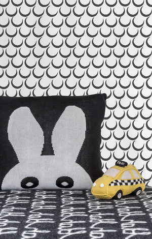 Dream Wallpaper in Charcoal by Sissy + Marley for Jill Malek