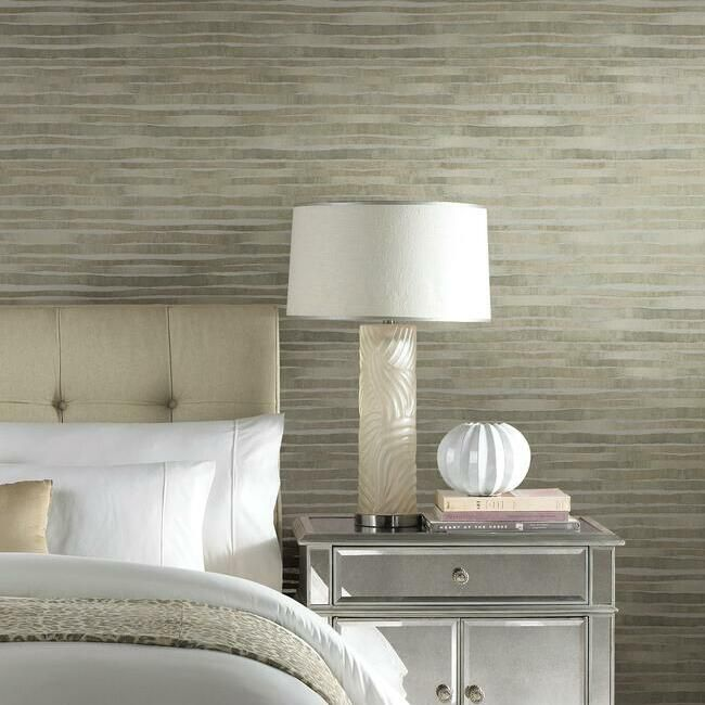 Dreamscapes Wallpaper in Stone from the Ronald Redding 24 Karat Collection by York Wallcoverings
