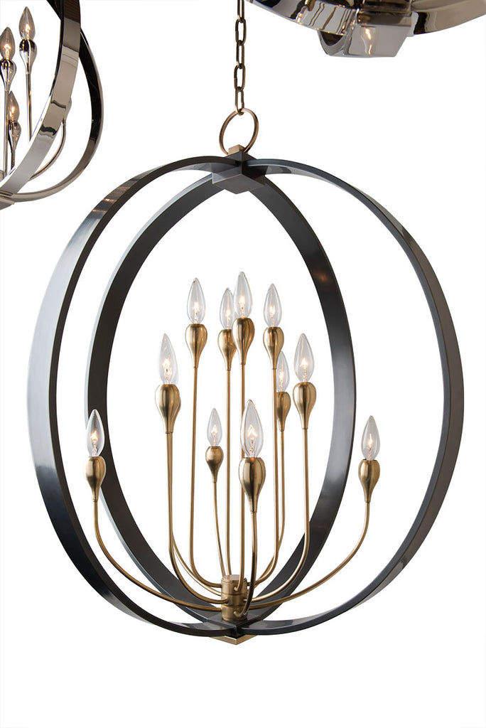 Dresden 8 Light Chandelier by Hudson Valley Lighting