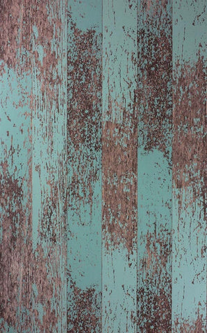 Driftwood Wallpaper in Teal from the Enchanted Gardens Collection by Osborne & Little