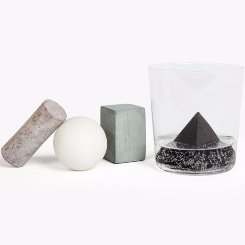 Set of 4 Drink Rocks Shapes design by Areaware