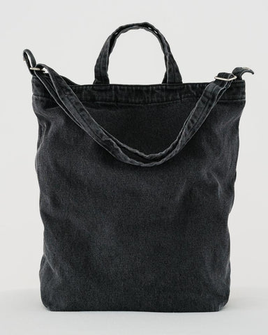 Duck Bag in Washed Black