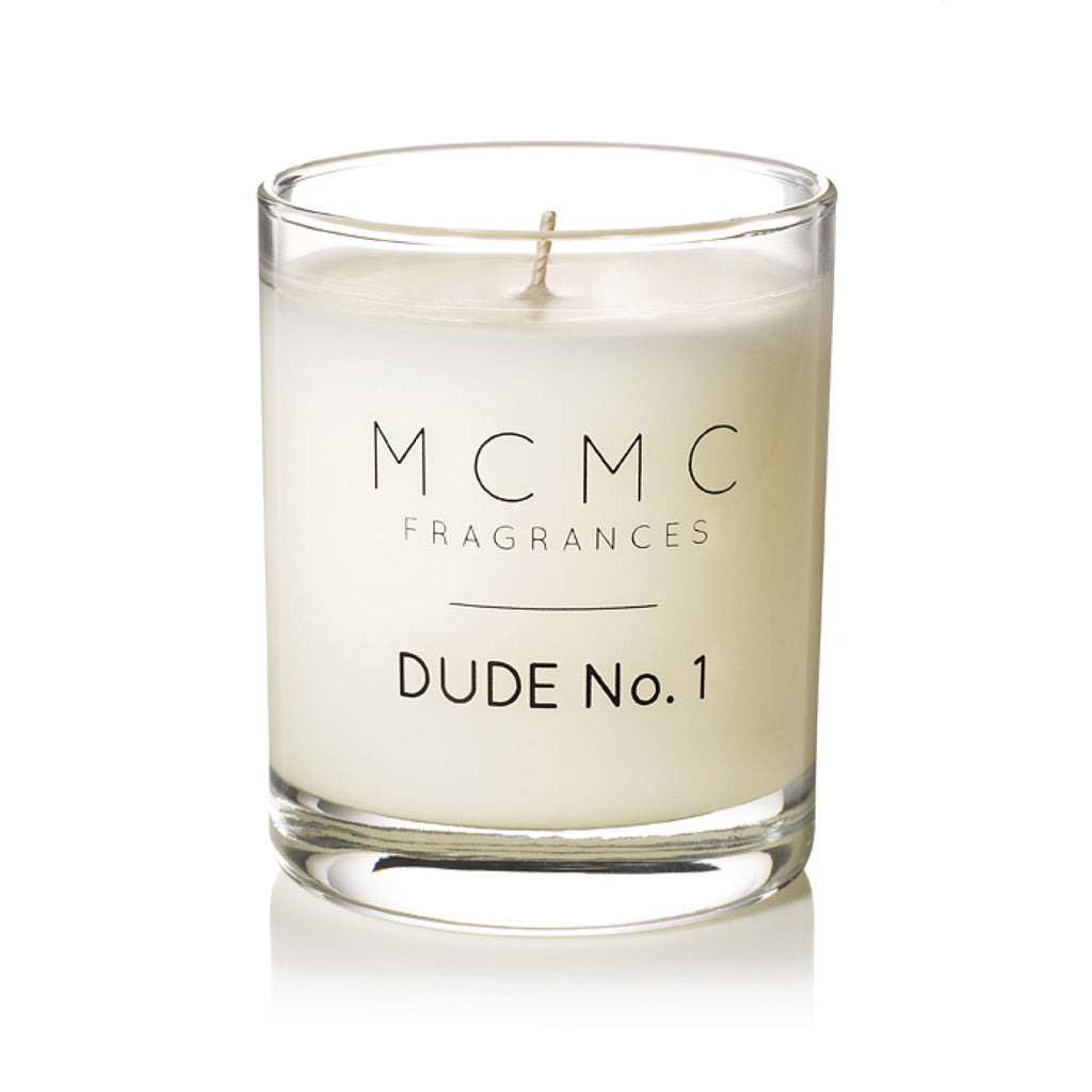 DUDE No. 1  Candle design by MCMC Fragrances