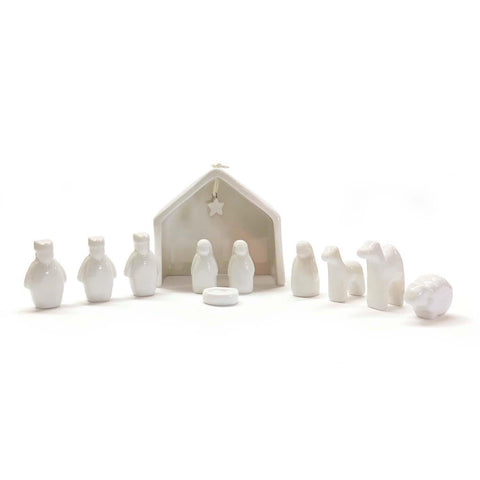 Miniature Nativity Scene Set