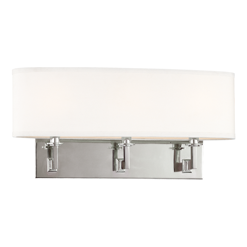 Grayson 3 Light Wall Sconce by Hudson Valley Lighting
