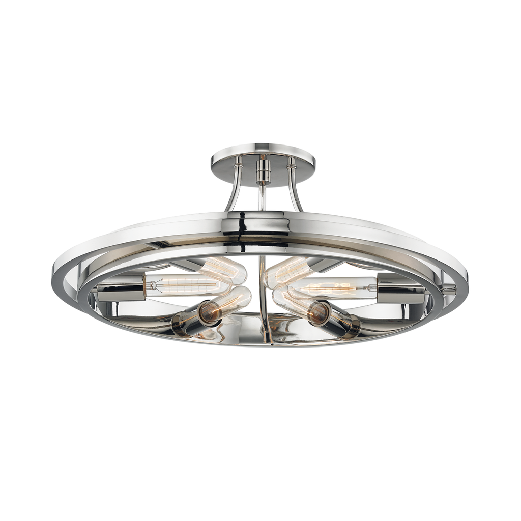 Chambers 6 Light Flush Mount by Hudson Valley Lighting