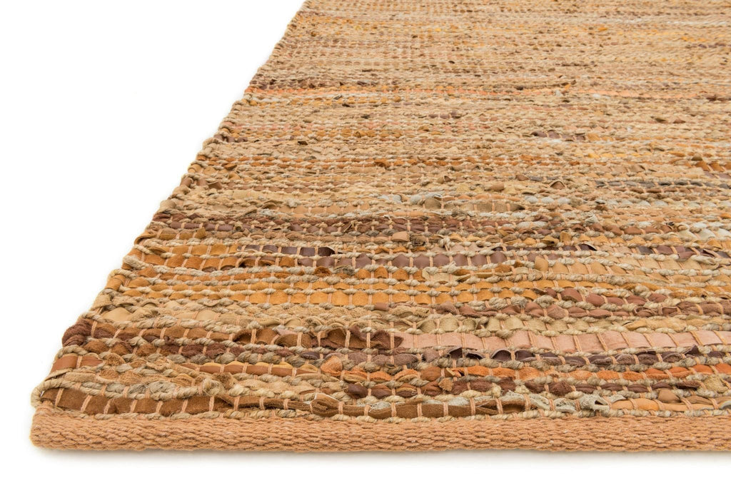 Edge Rug in Tan by Loloi