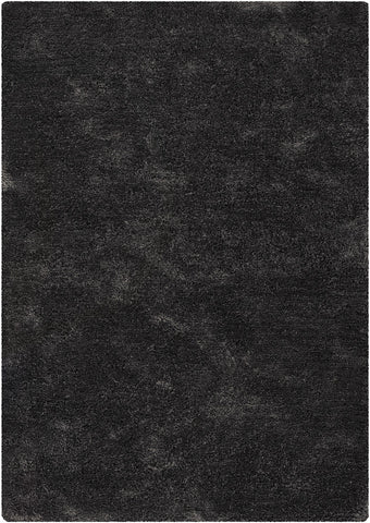 Edina Collection Hand-Woven Area Rug in Charcoal