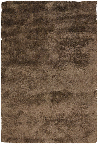 Edina Collection Hand-Woven Area Rug in Brown