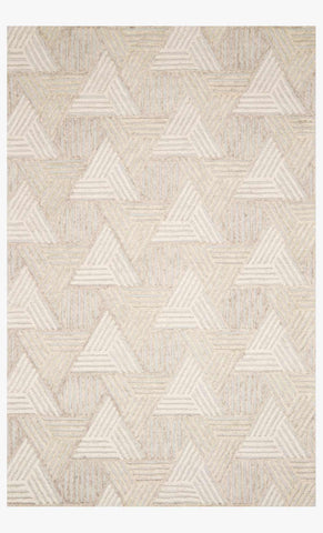 Ehren Rug in Oatmeal & Ivory by Loloi
