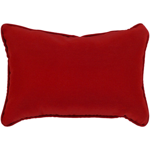 Essien EI-006 Woven Pillow in Bright Red by Surya