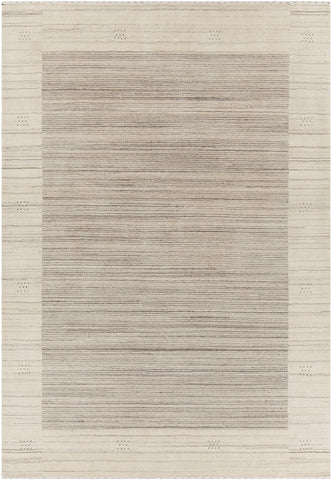 Elantra Collection Hand-Knotted Area Rug in Beige & Brown design by Chandra rugs