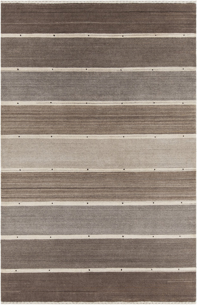 Elantra Collection Hand-Knotted Area Rug in Brown & Beige design by Chandra rugs