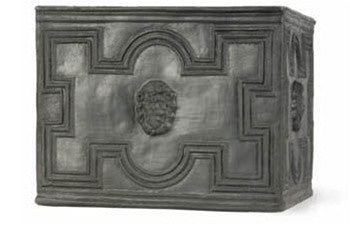 Elizabethan Planter in Faux Lead Finish design by Capital Garden Products