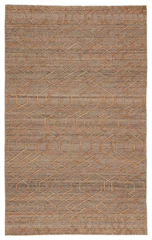 Celia Natural Geometric Beige & Grey Rug by Jaipur Living