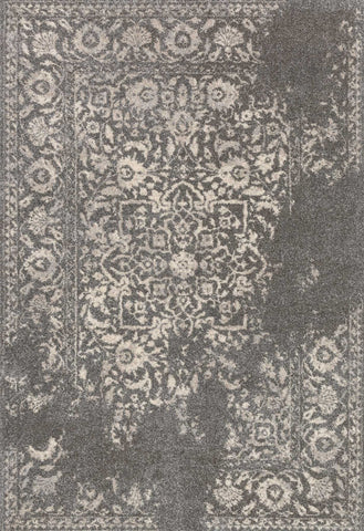 Emory Rug in Charcoal & Ivory design by Loloi
