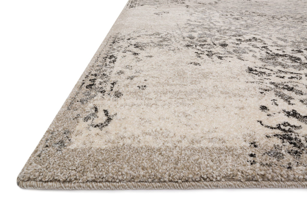 Emory Rug in Ivory & Charcoal by Loloi