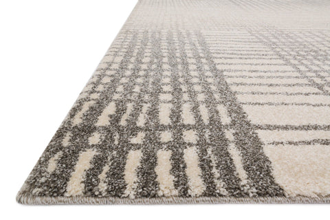 Emory Rug in Ivory & Grey by Loloi