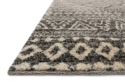 Emory Rug in Graphite & Ivory design by Loloi