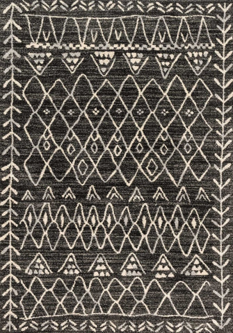 Emory Rug in Black & Ivory design by Loloi