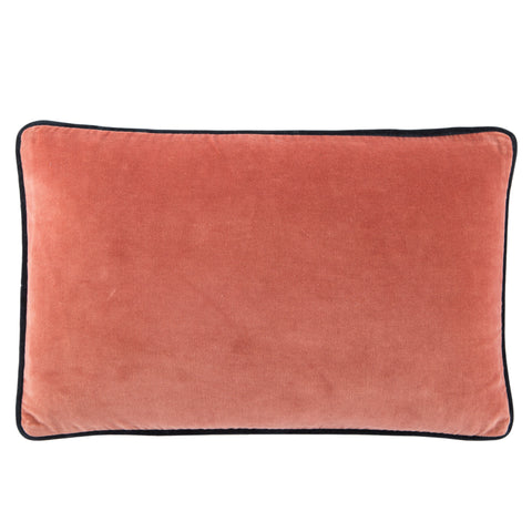 Lyla Solid Pink & Navy Pillow