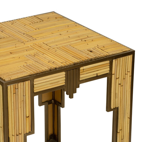 Empire Side Table in Natural design by Selamat
