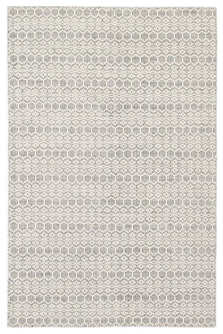 Calliope Trellis Rug in Whisper White & Ghost Gray design by Jaipur