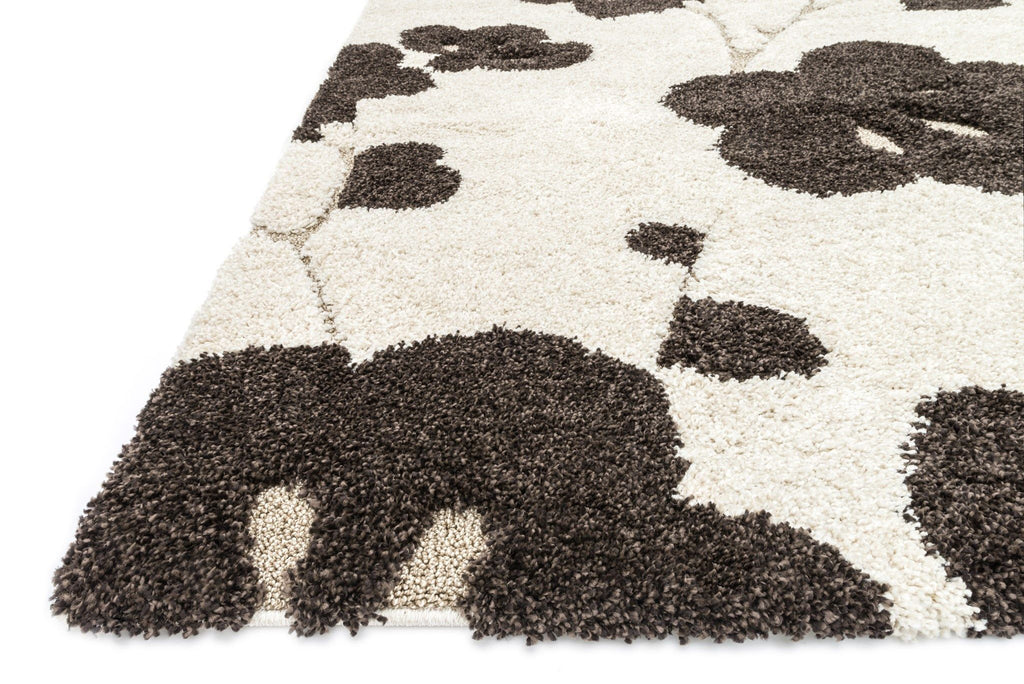 Enchant Rug in Ivory & Espresso by Loloi