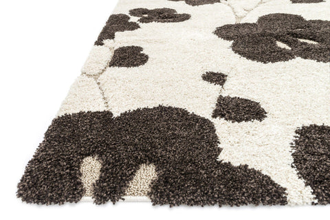 Enchant Rug in Ivory & Espresso design by Loloi