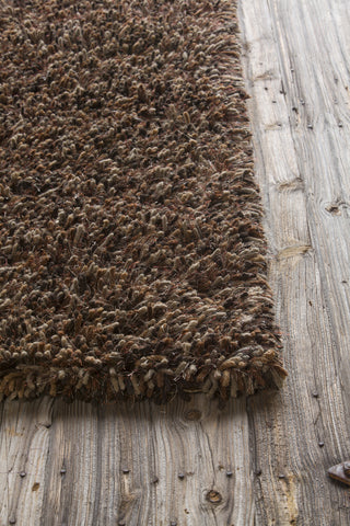 Estilo Collection Hand-Woven Area Rug in Rust & Brown