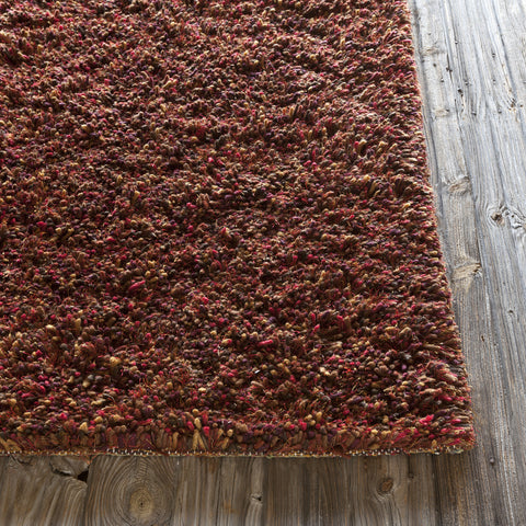 Estilo Collection Hand-Woven Area Rug in Red, Gold, & Brown design by Chandra rugs