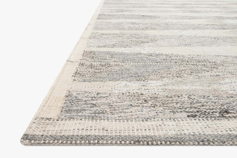 Evelina Rug in Pewter & Silver by Loloi
