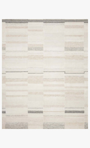 Evelina Rug in Ivory & Beige by Loloi