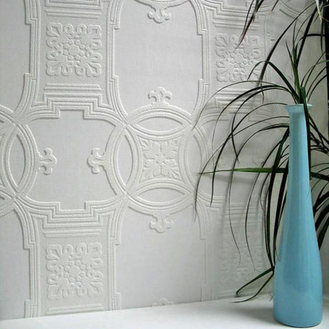 Early Victorian Paintable Textured Wallpaper Design By Brewster Home  Fashions ...
