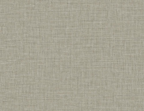 Easy Linen Wallpaper in Cliffside from the Texture Gallery Collection by Seabrook Wallcoverings