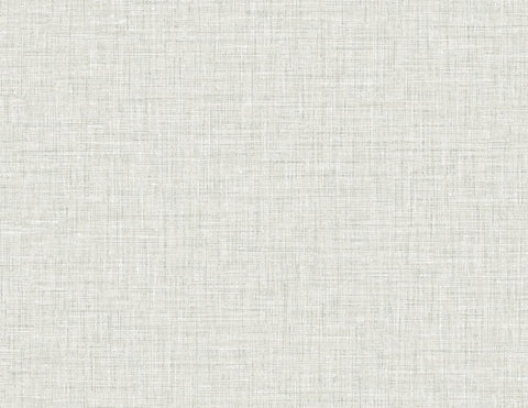 Easy Linen Wallpaper in Heather Grey from the Texture Gallery Collection by Seabrook Wallcoverings