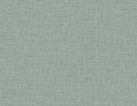 Easy Linen Wallpaper in Powder Blue from the Texture Gallery Collection by Seabrook Wallcoverings