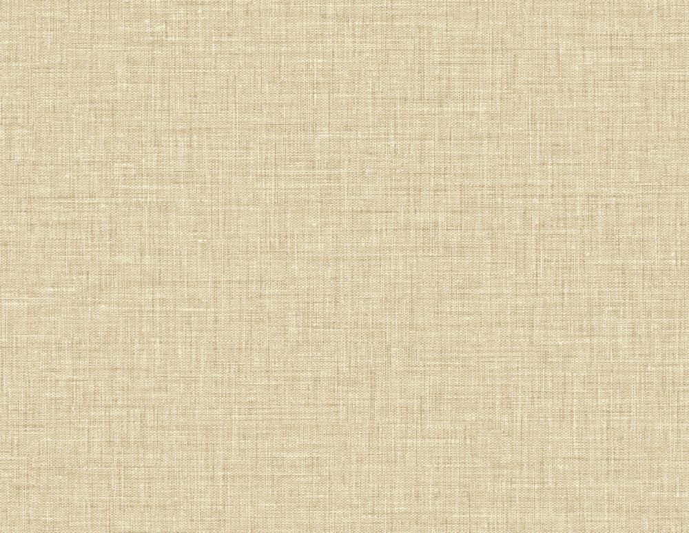 Easy Linen Wallpaper in Sandstone from the Texture Gallery Collection by Seabrook Wallcoverings