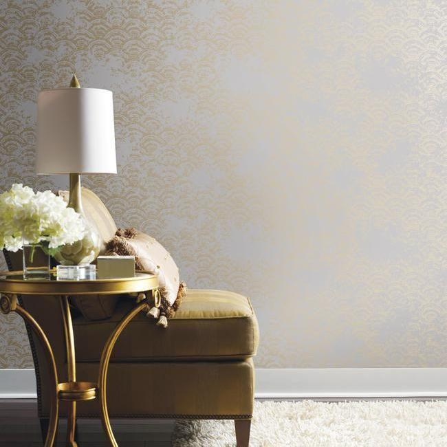 Eclipse Wallpaper by Antonina Vella for York Wallcoverings