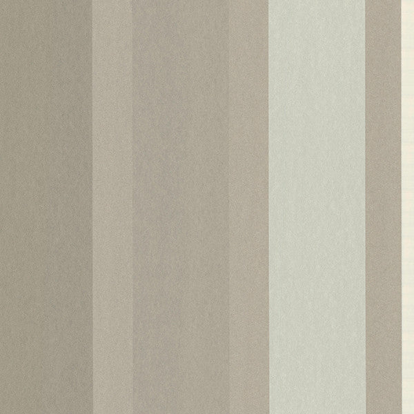 Edessa Taupe Stripe Wallpaper from the Savor Collection by Brewster Home Fashions